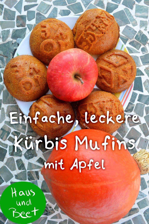 Kürbis Muffins – Süßes gesundes Dessert