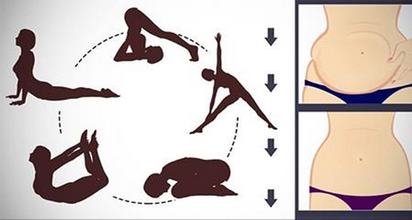 5 Simple Yoga Poses To Reduce Even the MOST Stubborn Belly Fat