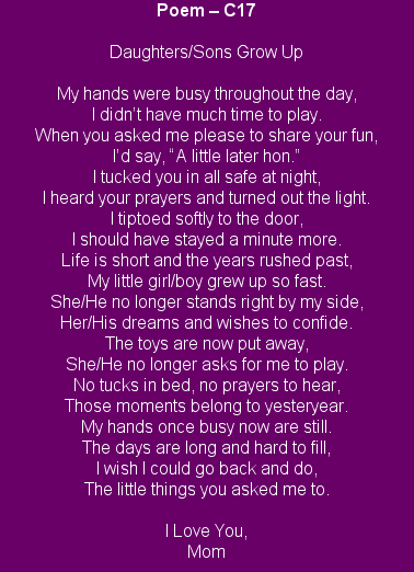 Poems About Growing Up Yahoo Image Search Results