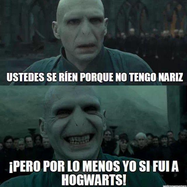 Los Memes Mas Graciosos Sobre Voldemort Www Trendybynick Com Memes De Harry Potter Harry Potter Gracioso Fans De Harry Potter