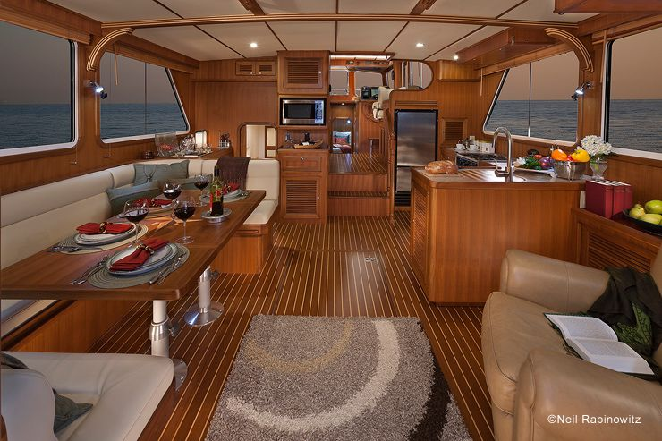 Image Result For Dining Tables And Chairs For Boats Trawler Boat
