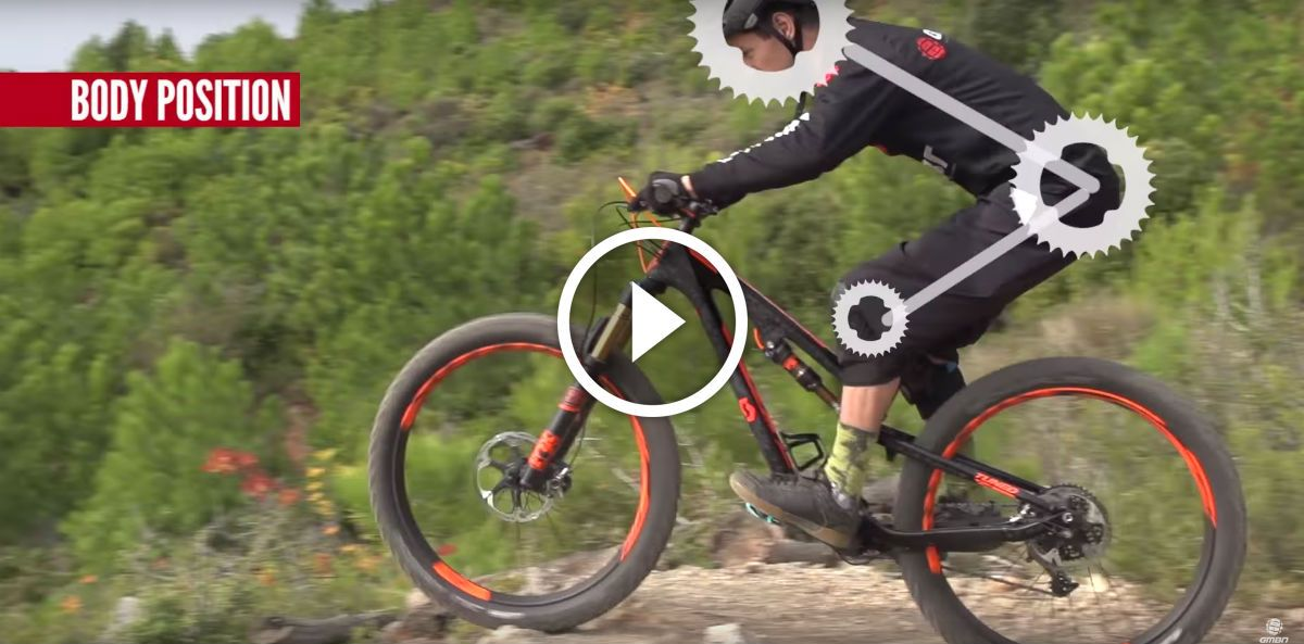 Watch 5 Common Mountain Biking Body Position Mistakes Mountain