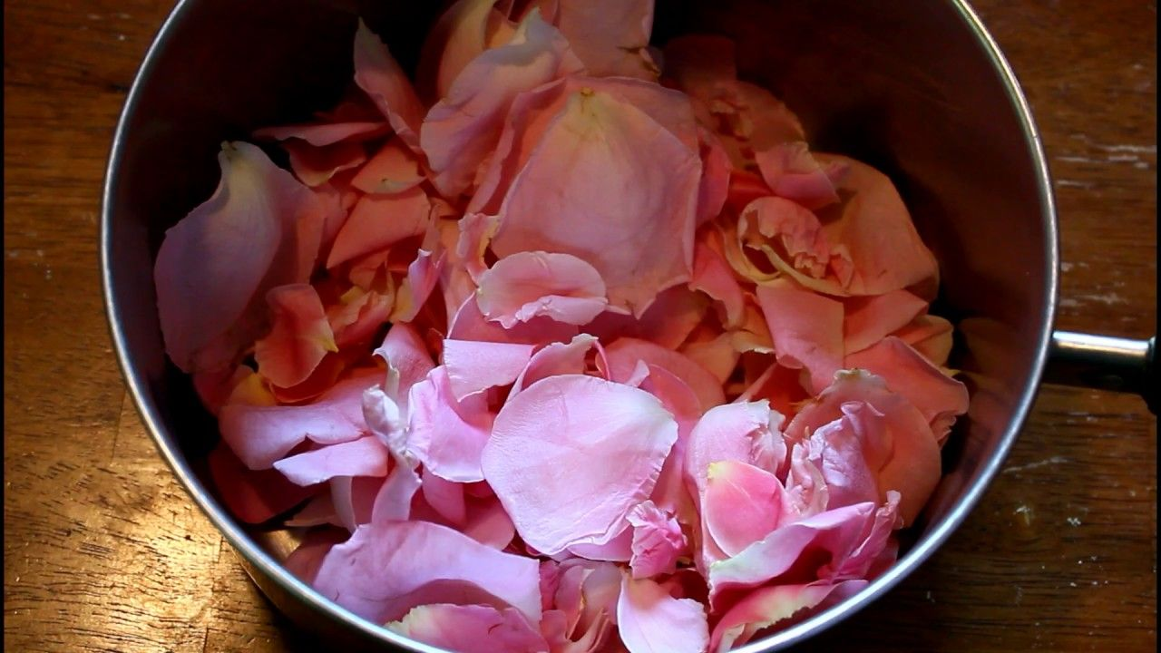 Heirloom Rose Petal Jam Jelly Kitchen Garden Freshcutky Youtube