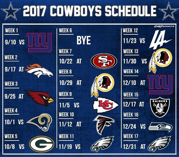 Luxury 43 Examples Printable Dallas Cowboys019 Schedule