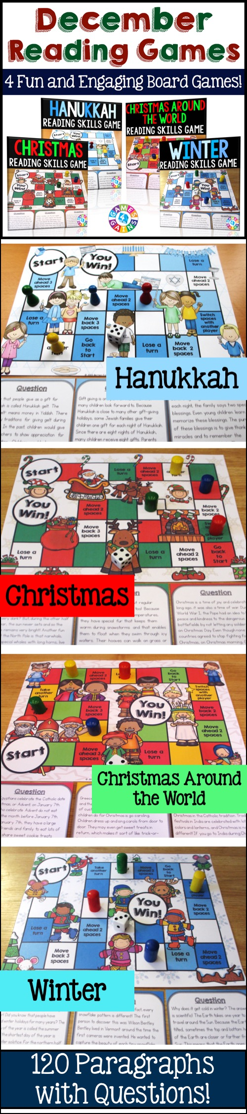 December Activities Bundle Holidays Around the World