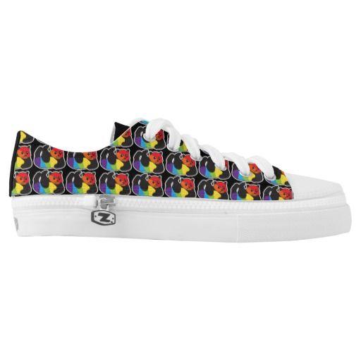 best loved 39f6a c8608 Gay Panda LGBT Rainbow Pride Printed Shoes