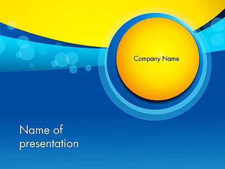 Golden and blue abstract powerpoint template vicky pinterest golden and blue abstract powerpoint template toneelgroepblik Image collections
