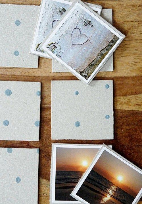 Diy Memory Spiel Aus Euren Schönsten Instagrambildern