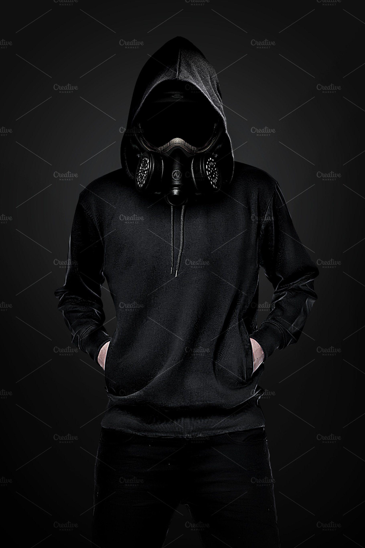Gas Mask Man Máscaras de gás, Máscara de gás, Papel de