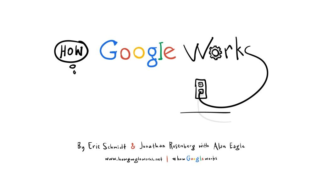 how google works by eric schmidt via slideshare becoming an