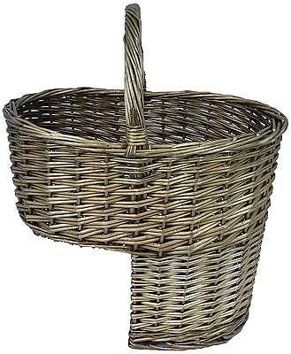 #Wicker Stair Step #storage Basket With #handle, View More On The LINK
