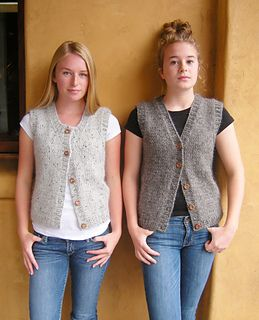 Calidez Vest pattern by Jenjoyce Design #womenvest