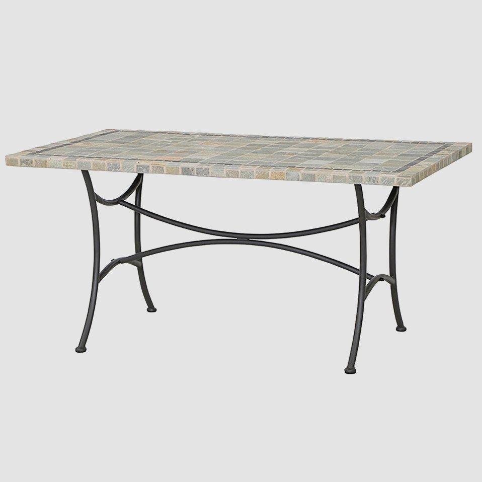 Gartentisch Mit Steinplatte Elegant Tisch Schon For Eleganter