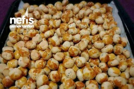 Çörek Otlu Tuzlu Misket Kurabiye Tarifi Videosu