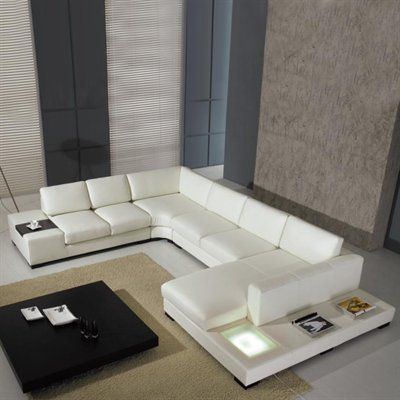 Pin By Donovan Twaddle On Shut Up And Take My Money White Leather Couch White Leather Sofas Modern Leather Sectional