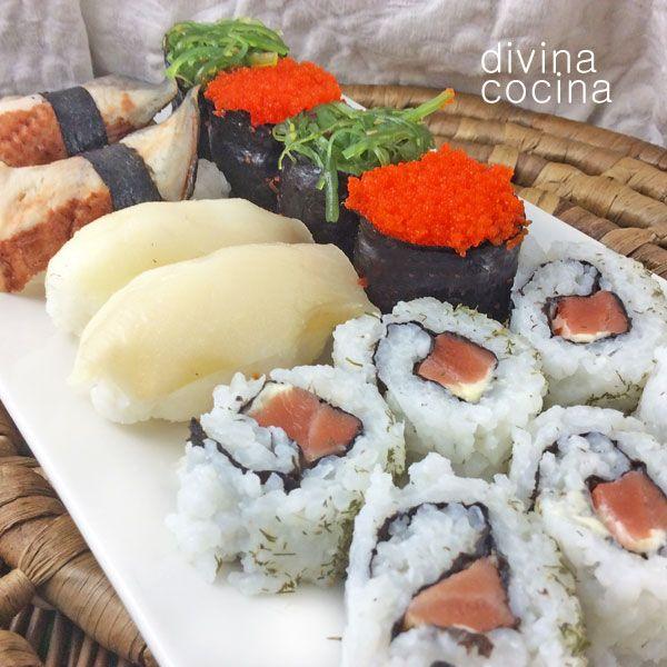 sushi recetas pinterest sushi y salsa
