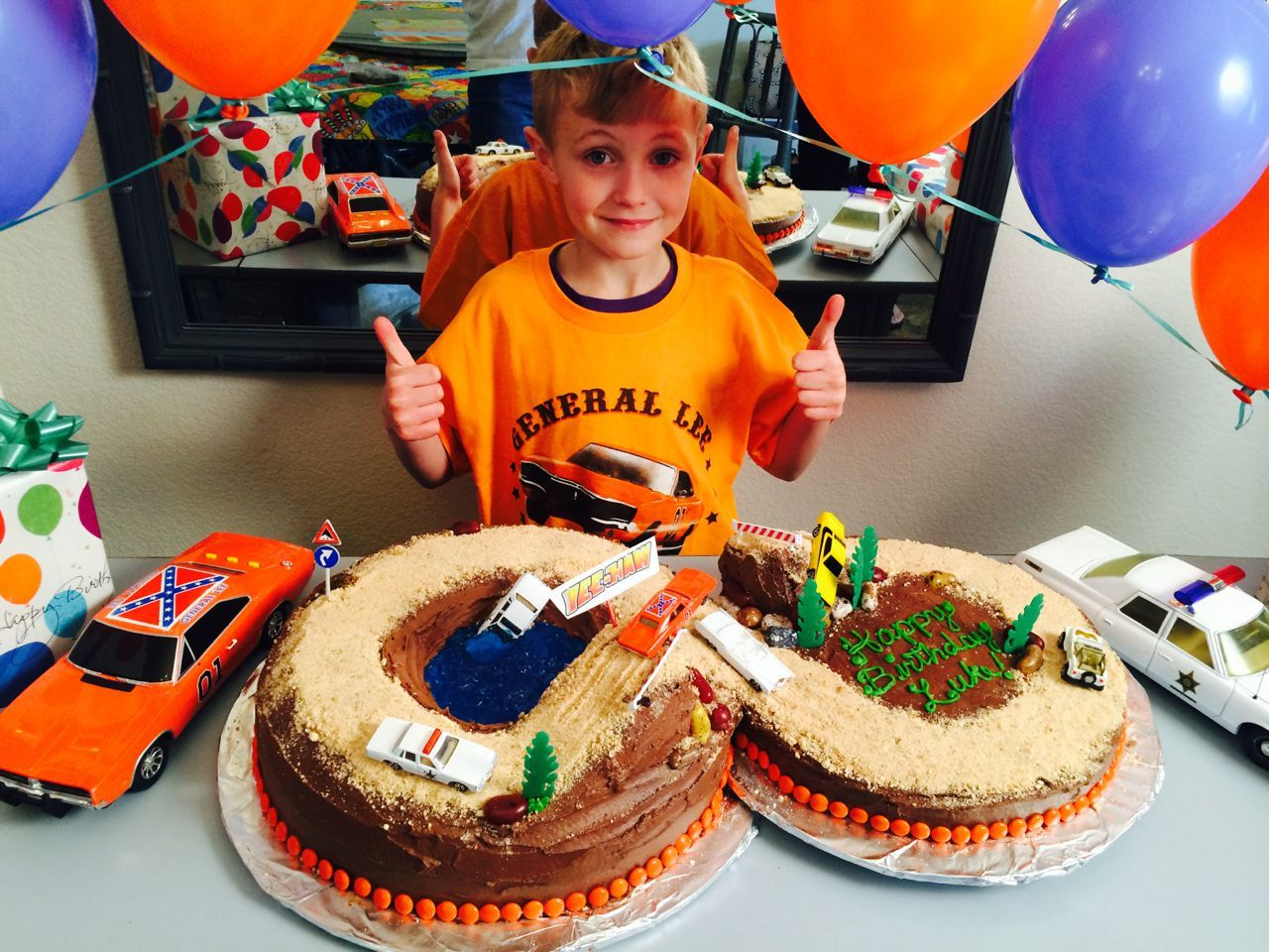 Dukes Of Hazzard Birthday Cake
