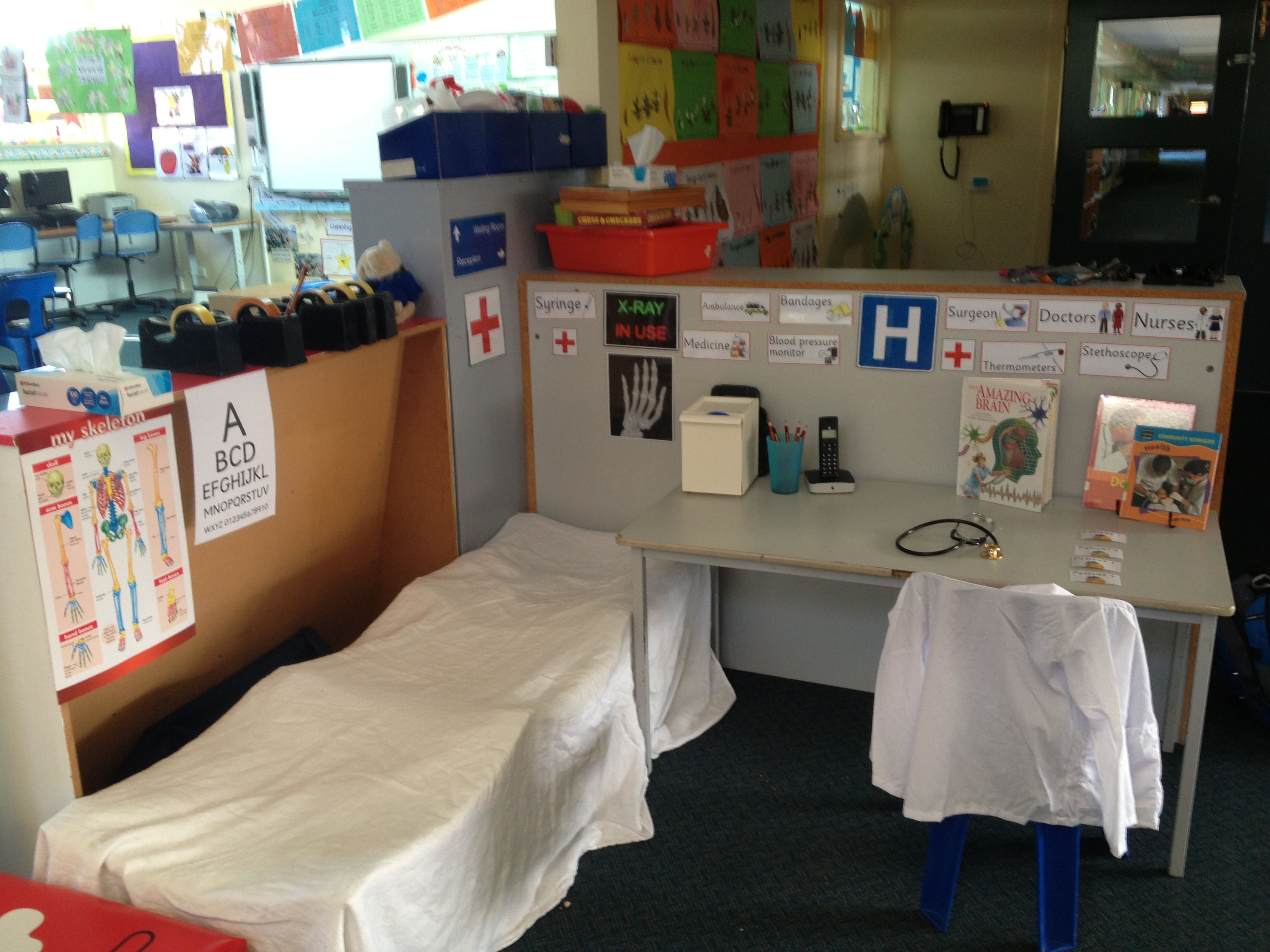 Hospital Role Play Area Play Based Learning