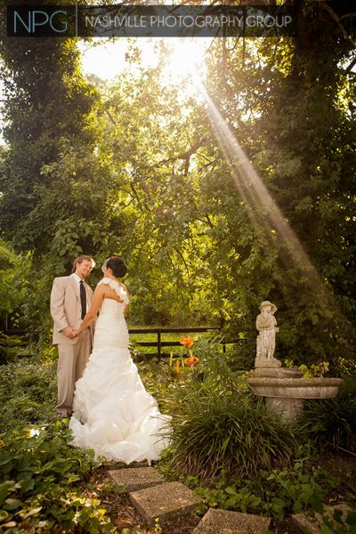 Outdoor Wedding Photography By Nashville Group
