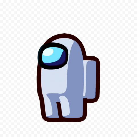 Hd White Among Us Character Png Png Character Cute Drawings