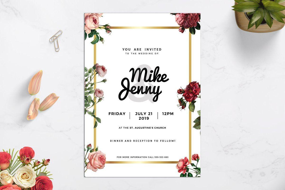 Luxury Wedding Invitation Wedding Invitation Card Template Wedding Invitations Luxury Wedding Invitations