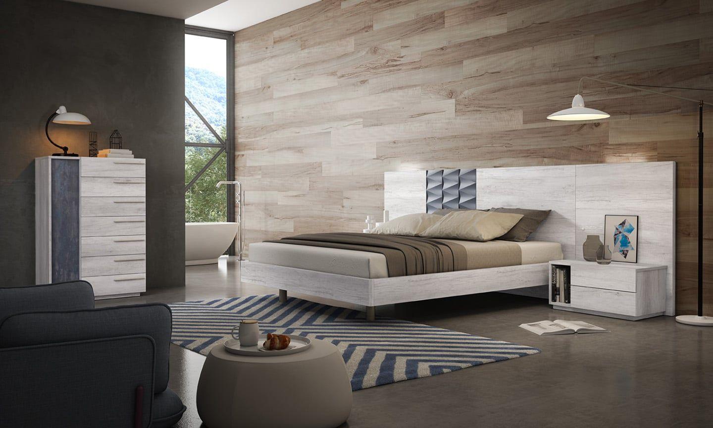 Mueble dormitorio matrimonio moderno ma 105 tienda de muebles de badajoz y extremadura - Muebles refolio badajoz ...