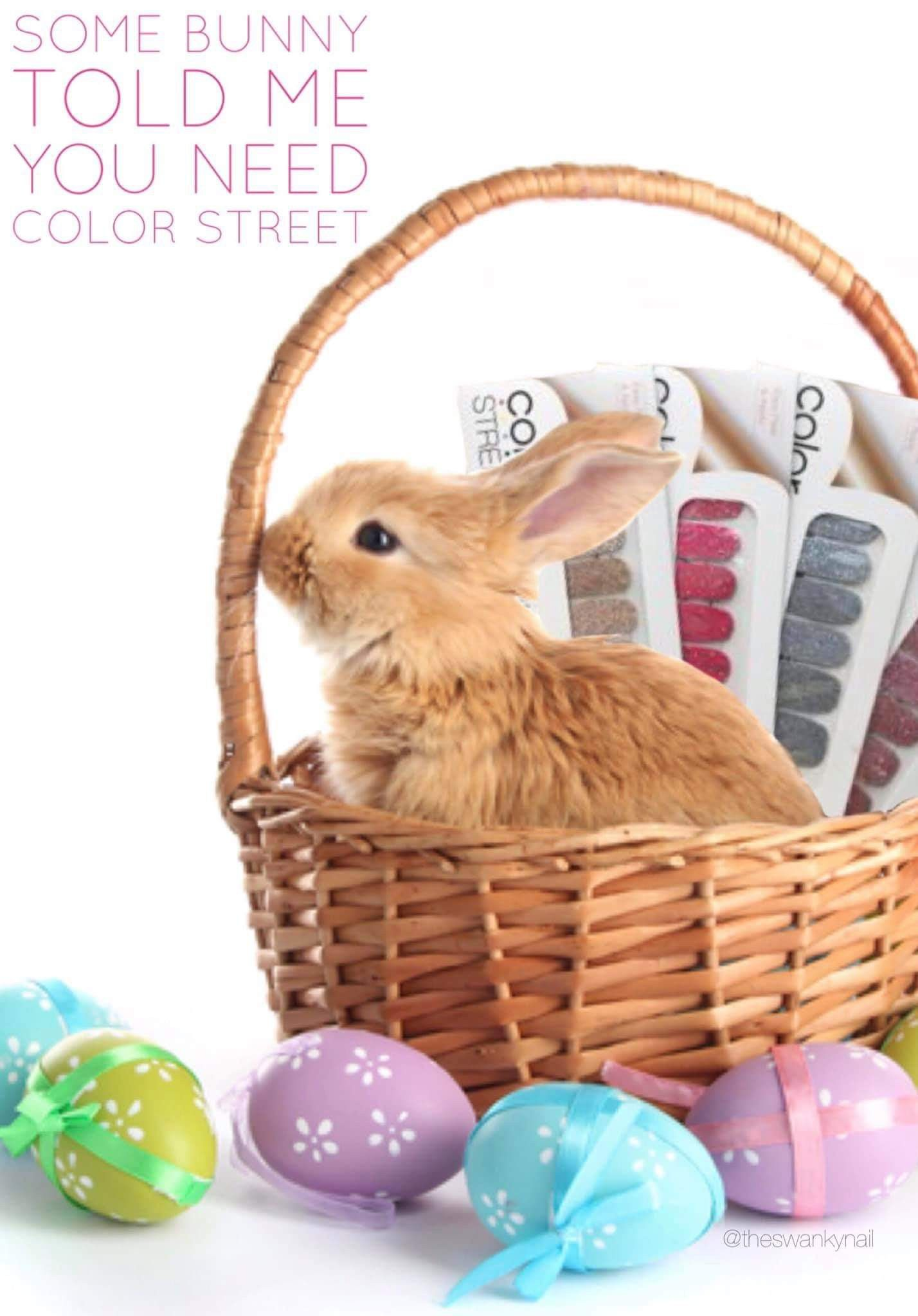 Give Color Street nail strips in their Easter Basket ...