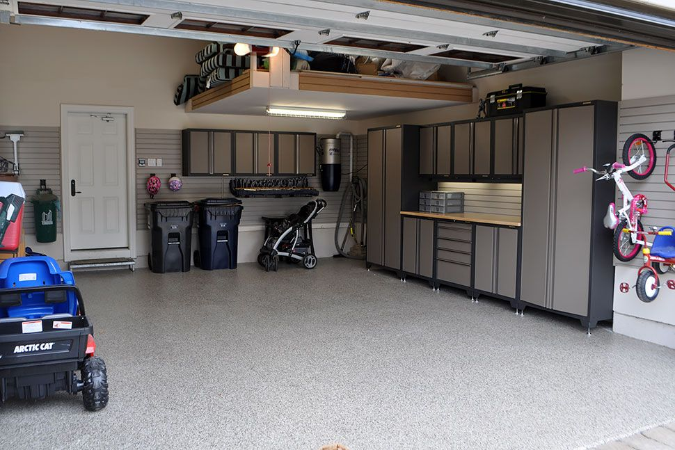 Incredible Garage Makeovers Garage Paint Garage Makeover Clean