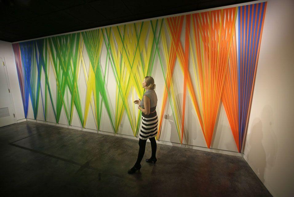 Megan Geckler exhibit at the Utah Museum of Contemporary