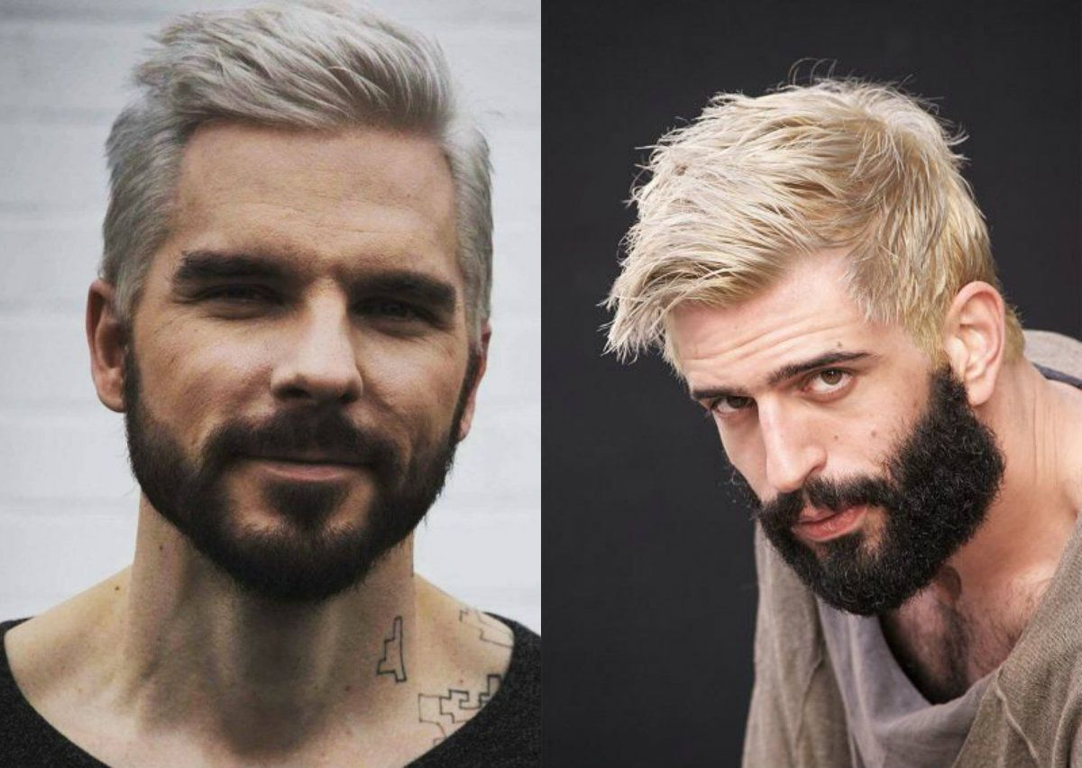 Platinum Blonde Men S Hairstyles To Be The Trend Mens