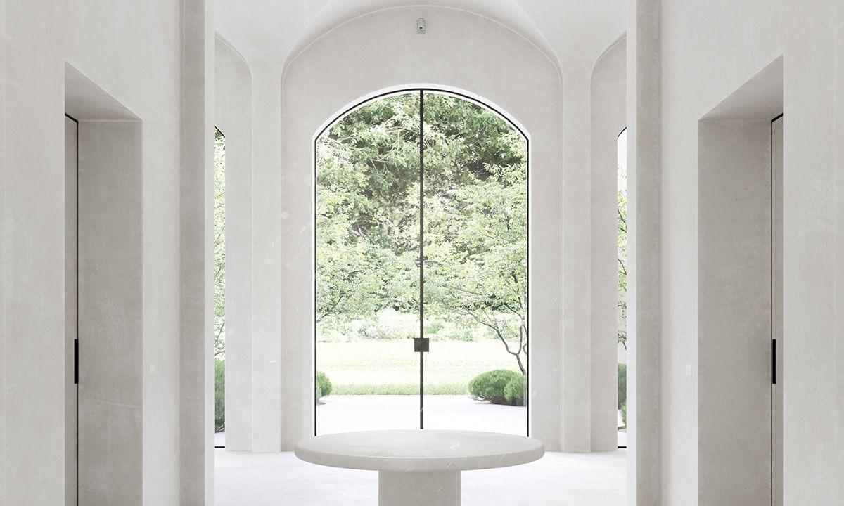 Minimalist Monastery On Behance Kim House Minimalist Home Interior Minimalist Home