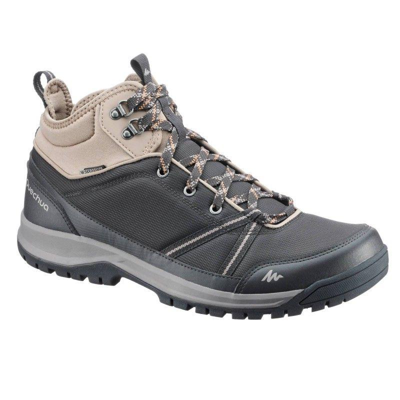 bleu Chaussures randonnée nature imperméable NH150 de mid c3ARqj54L
