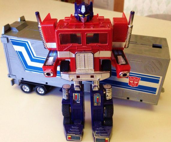 Generation 1 Transformers Optimus Prime Complete 80s By Iconorama 61 33 I Played With My Brother S Toys
