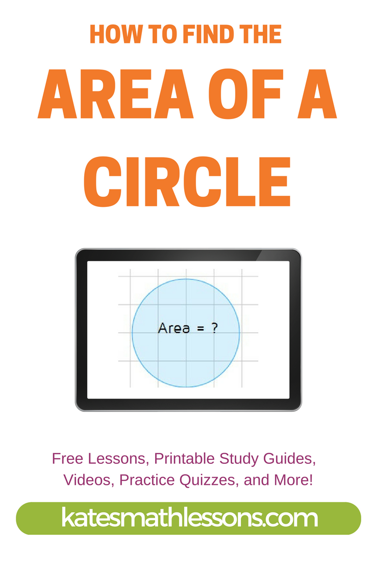 How do you calculate the area of a circle? Learn how to