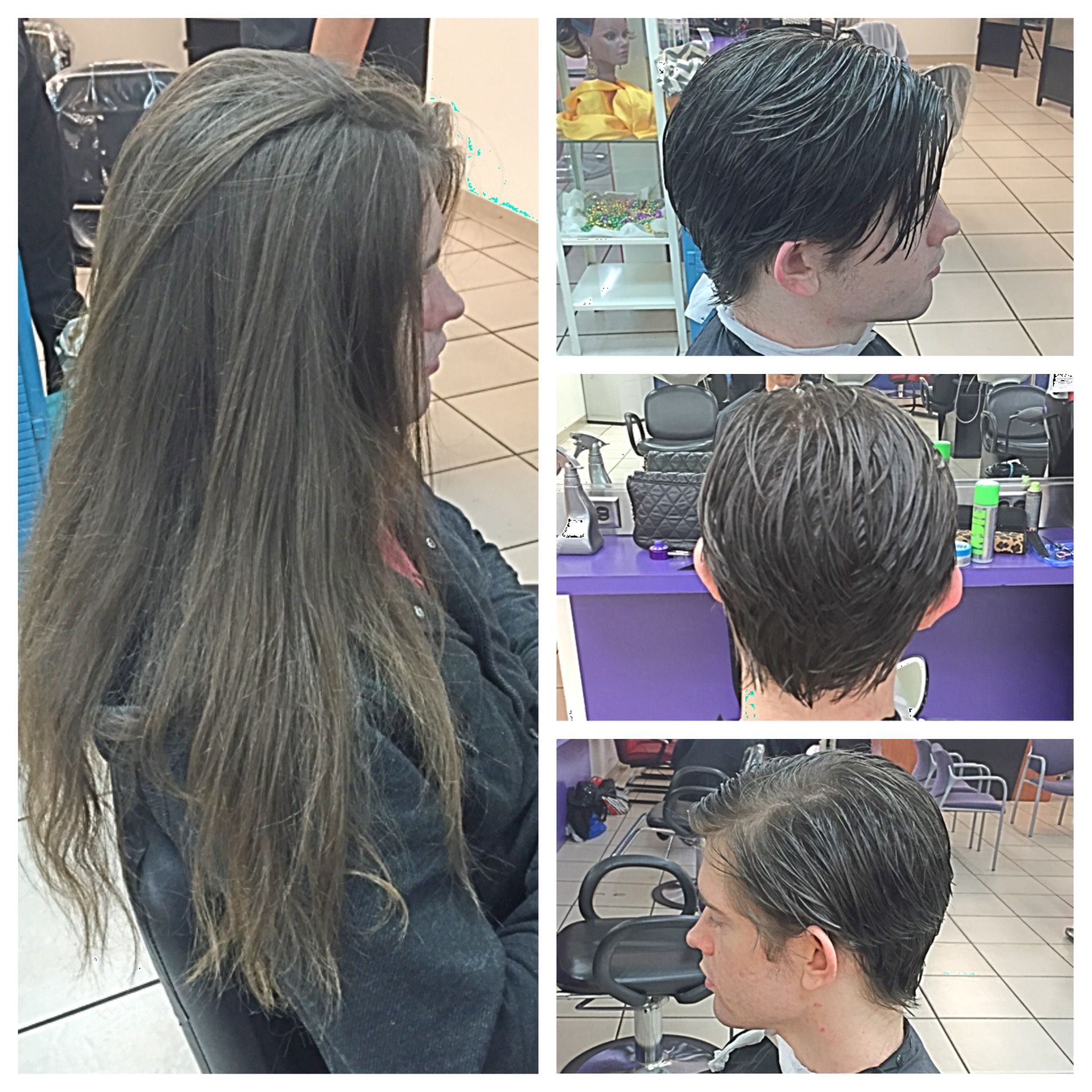 Check Out This Amazing Before After Mens Haircut Done By Stude