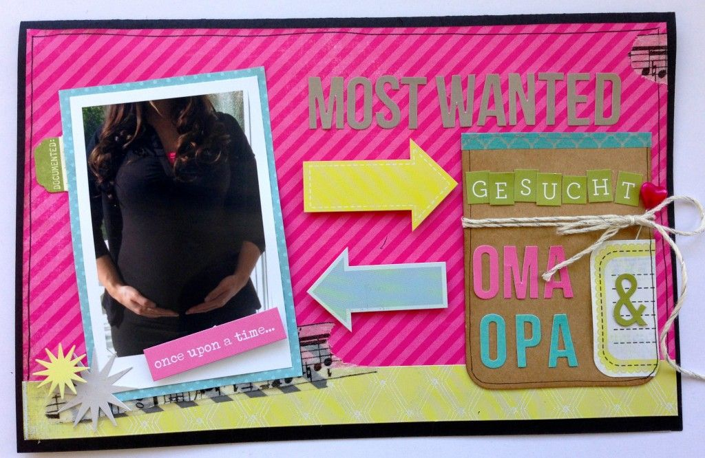 Card by Michelle, www.crela.ch #cardmaking #scrapbooking #pregnancy