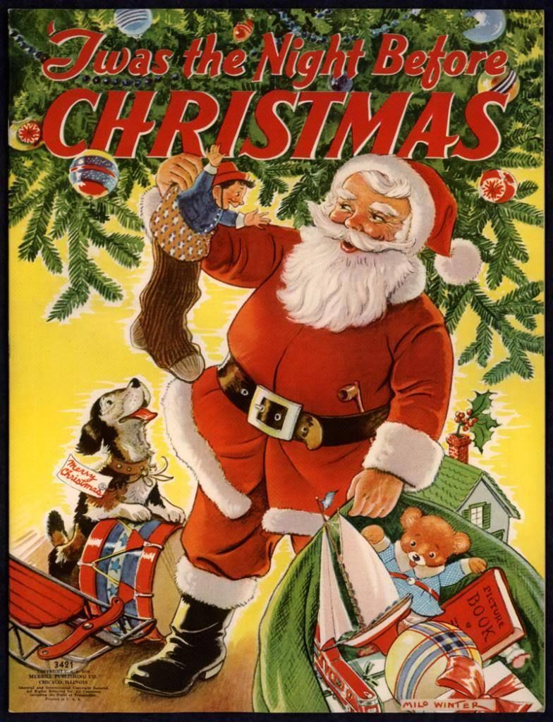 Twas the night before christmas 3421 merrill 1939 by