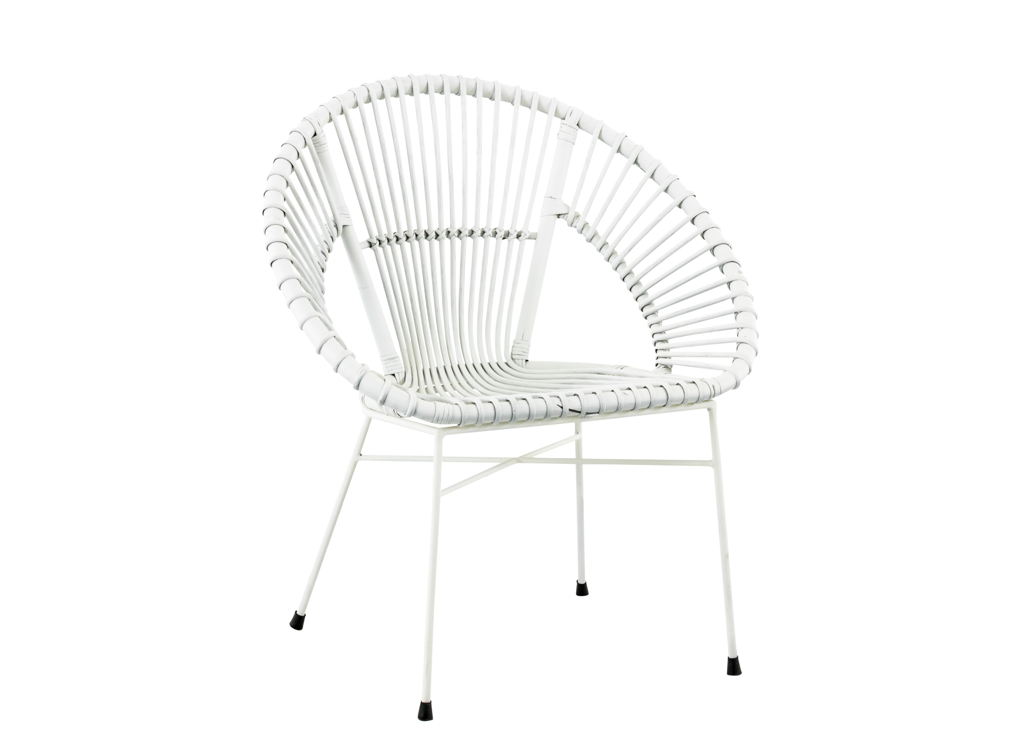 fauteuil rotin blanc fly - Fauteuil Rotin Fly