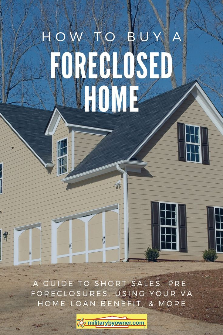 how to buy a foreclosed bank owned home