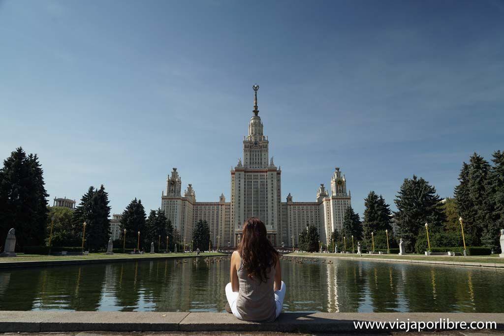 Moscú - Universidad