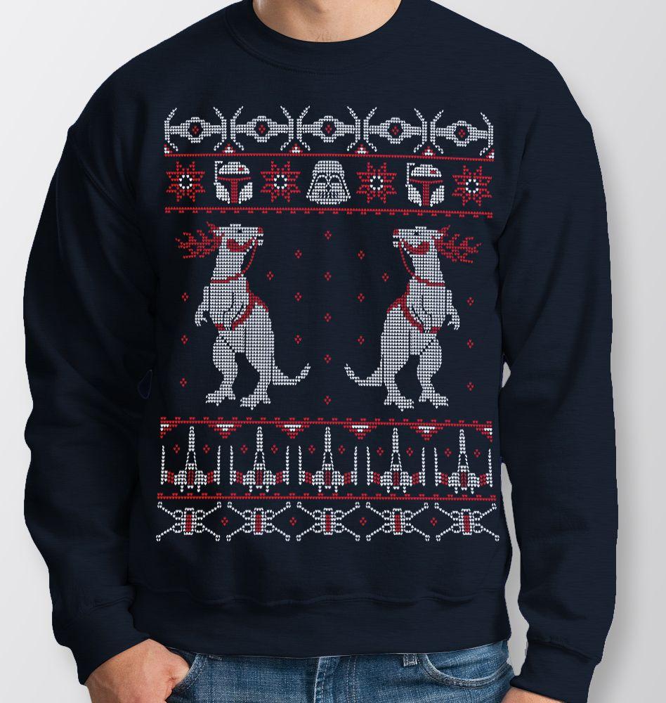 Star Wars Tauntaun Xmas Jumper Memeingful Star Wars Sweater Unisex Sweatshirt Sweatshirts