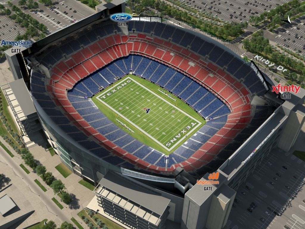 The Most Amazing Texans Stadium