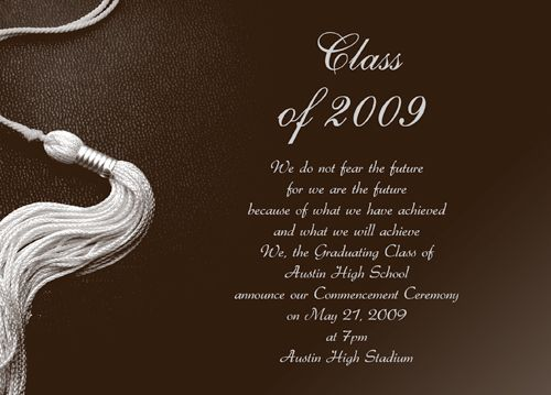Free Printable Graduation Party Announcements Diy Ideas For