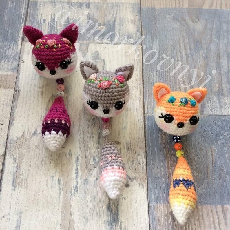crochet cat keychain pattern - YouTube in 2020 | Cat amigurumi ... | 794x794