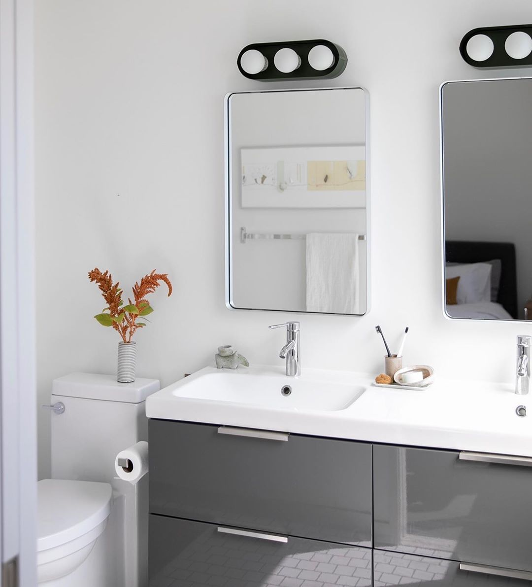 What Is Bathroom Decor Bathroom Decor Organization How To Decor Bathroom Mirror Farmhouse Bathroom Decor In 2020 Bathroom Decor Vanity Decor Black Cabinet Hardware Bathroom decor home depot