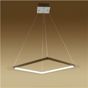 EU Lager)Moderne Pendelleuchte LED aus Acryl Eckig 30cm | Wohnzimmer ...