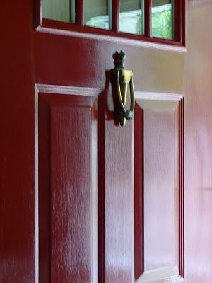 Rust Oleum Paint In Colonial Red