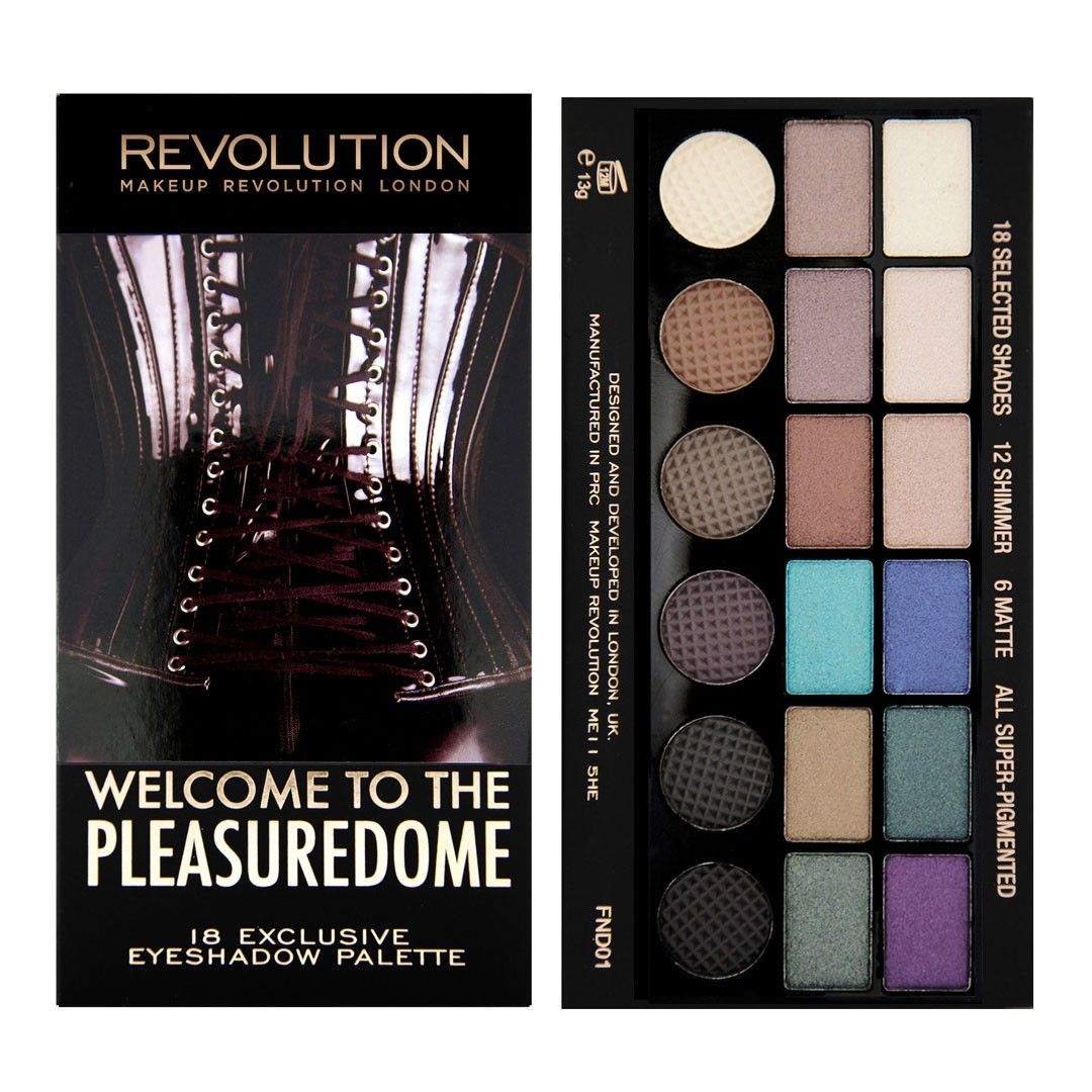 Salvation Palette to the Pleasuredome MAKEUP