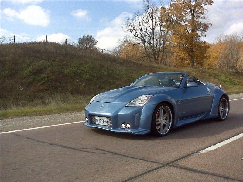 Custom Nissan 350Z Convertible | Dream Car | Pinterest ...