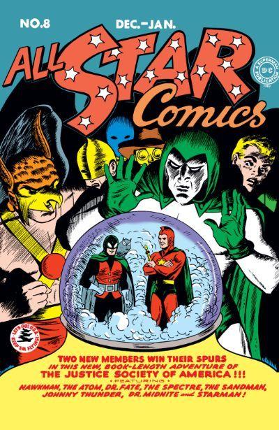 All Star Comics 8 Comics By Comixology Golden Age Comics Rare Comic Books Star Comics